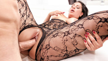 Cristal Caraballo in Passion And Lace