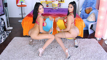 Vanessa Sky & Victoria June in Latina Lovin