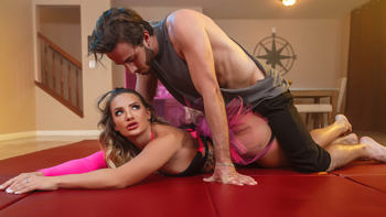 Cali Carter in Roommate Wrestling