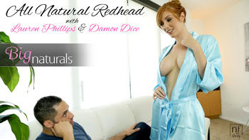 Lauren Phillips in All Natural Redhead