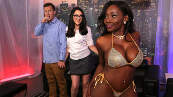 Nickey Huntsman & Osa Lovely in Strip Club Surprise