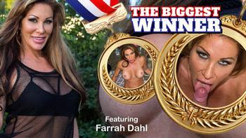 Farrah Dahl in The Biggest Winner
