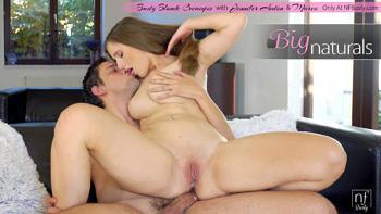 Jennifer Amton in Busty Blonde Creampie