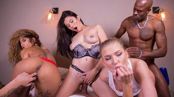 Lucy Heart, Miyuki Son & Venus Afrodita in Pornstar Practices