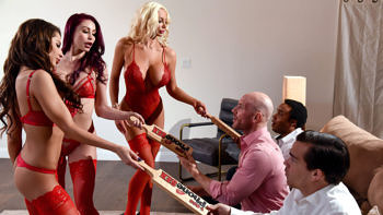 Madison Ivy, Monique Alexander & Nicolette Shea in 1 800 Phone Sex: Line 8