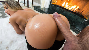 Cali Carter in Fireside Fap