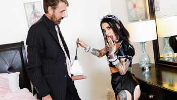 Joanna Angel in French Anal MILF Maids