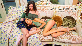 Naomi Woods & Whitney Wright in Catching Feelings