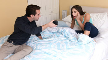 Abella Danger in Guilty Nanny Rides Hard Dick To Redemption