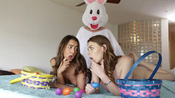 Alex Blake & Lily Adams in Creampie Surprise