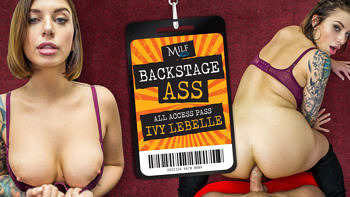Ivy Lebelle in Backstage Ass