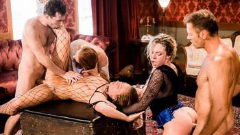 Maddy O'Reilly, Kelly Stafford & Dahlia Sky in Rocco & Kelly Sex Analysts