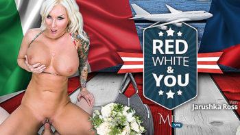 Jarushka Ross in Red, White & You