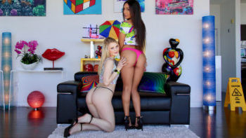 Lilly Hall & Lily Rader in Tag Team Dream