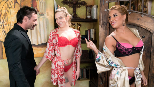 Mercedes Carrera & Giselle Palmer in Double The Order