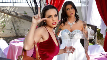 Abigail Mac & Felicity Feline in Bisexual Bride