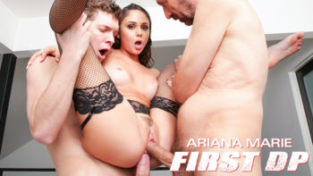 Ariana Marie First Double Penetration
