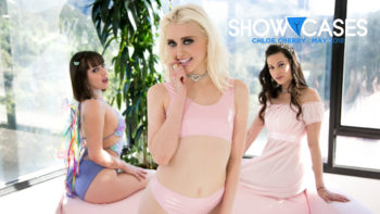 Jenna Sativa, Georgia Jones & Chloe Cherry in Showcases