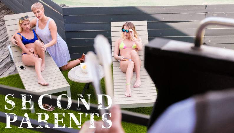 Khloe Kapri, Carter Cruise & Ryan Keely in Second Parents