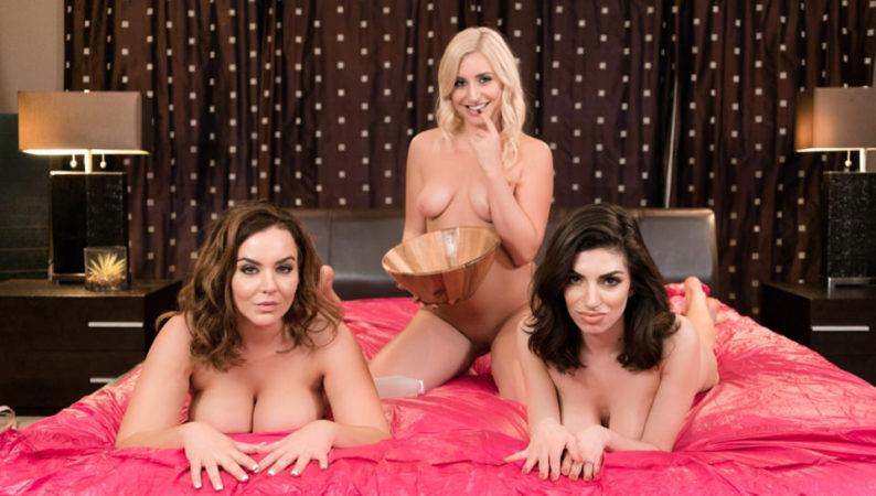 Natasha Nice, Darcie Dolce & Xandra Sixx in Sorority Initiation