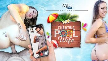 Sadie Holmes in Cheating Pool Wife