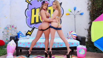 A Special Treat From Cali Carter & Lilly Ford