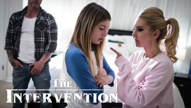Aaliyah Love & Kristen Scott in The Intervention